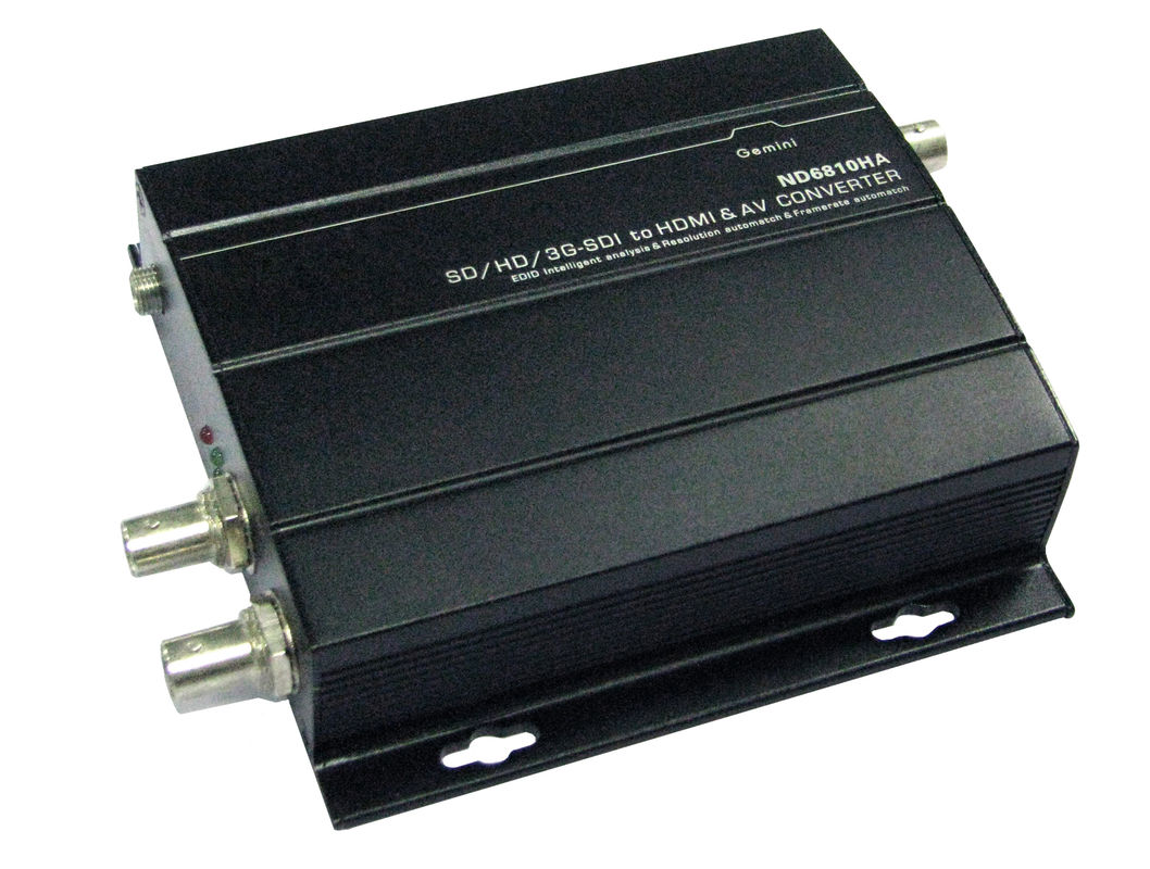 SD Fiber Optic Transceiver 1080P ,  Intelligent Adaptation Single Fiber Transceiver
