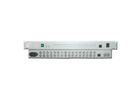 FC AC 220V 40km Managed PoE Gigabit Switch 16 E1 PDH Multiplexer Complete Alarm Function